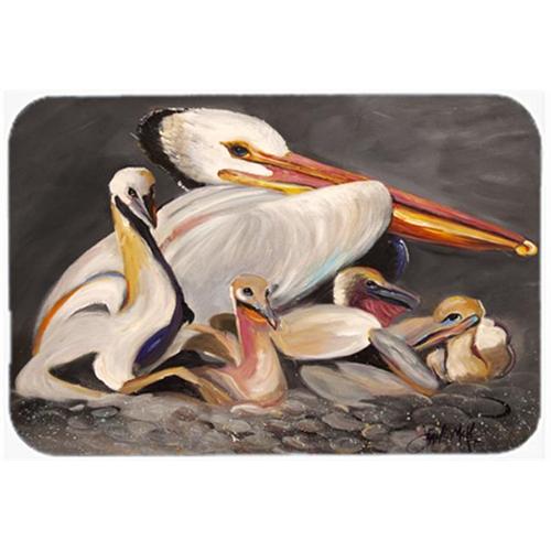 Carolines Treasures JMK1026MP White Pelicans Mouse Pad Hot Pad & Trivet