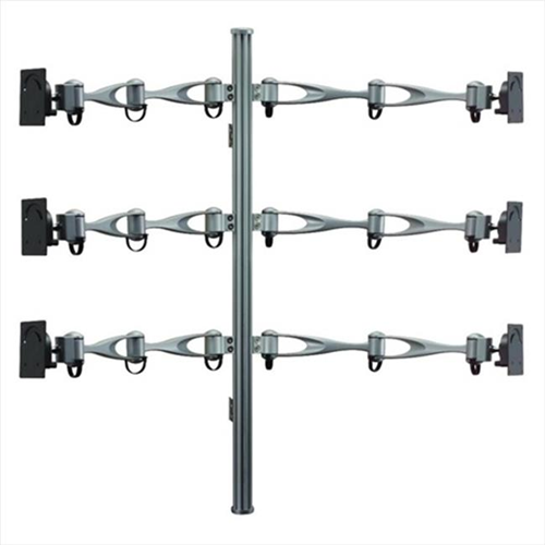 Cotytech MW-61A2 Monitor Wall Mount For Six Monitors Vertical