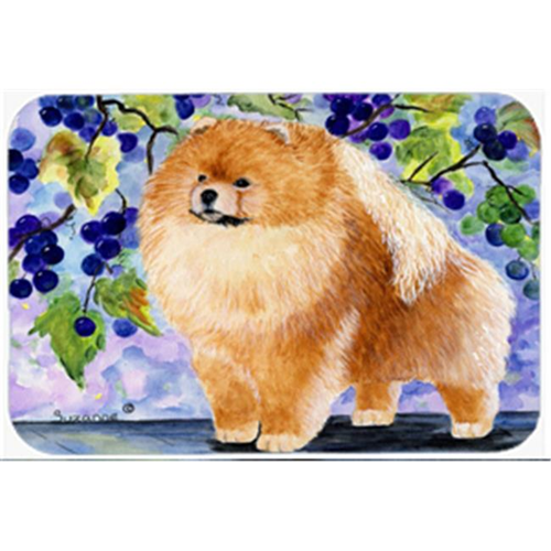 Carolines Treasures SS8251MP Pomeranian Mouse Pad Hot Pad & Trivet
