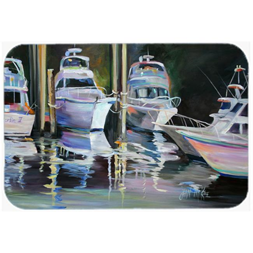 Carolines Treasures JMK1048MP Deep Sea Fishing Boats Mouse Pad Hot Pad & Trivet