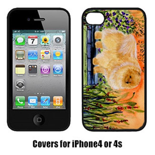 Carolines Treasures SS8161IP4 Pomeranian Cell Phone cover IPhone 4