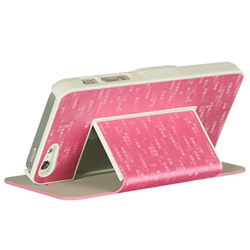 hot sale online dabf5 618f6 Dreamwireless Flip Cover Case for iPhone 5 - Pink
