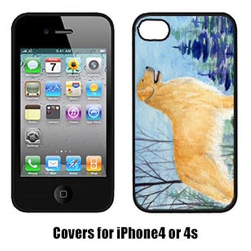 Carolines Treasures SS8607IP4 Golden Retriever Iphone4 Cover