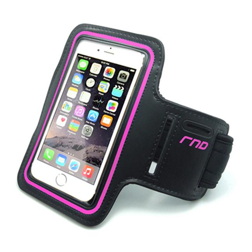 RND Accessories Slim-Fit Active Sports Armband Case For iPhone & Samsung Galaxy S4 S5 S6 - Pink
