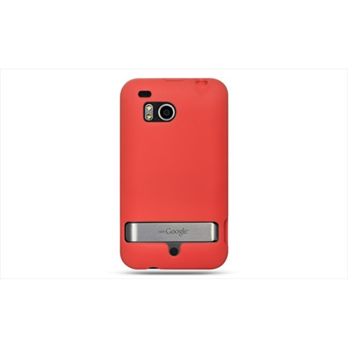 DreamWireless SCHTCINCHDRD-PR HTC Thunderbolt & Incredible HD & 6400 Premium Skin Case - Red