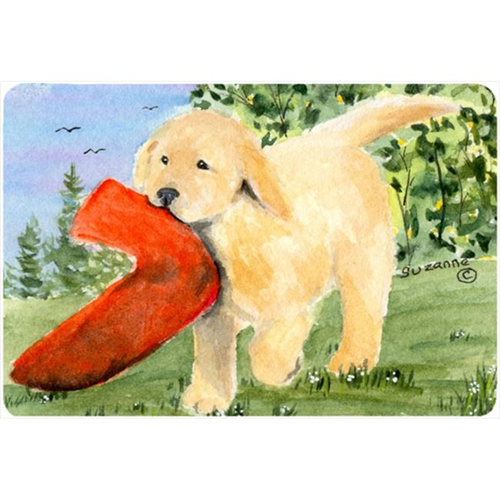 Carolines Treasures SS8762MP Golden Retriever Mouse pad hot pad or trivet