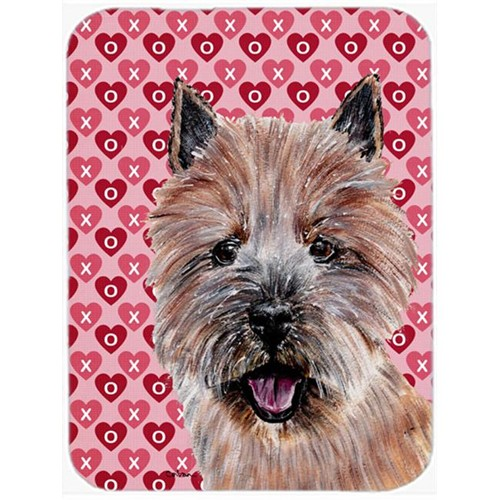 Carolines Treasures SC9710MP Norwich Terrier Hearts And Love Mouse Pad Hot Pad Or Trivet 7.75 x 9.25 In.