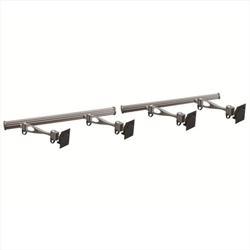 Cotytech HMW-41A1 Wall Mount For Four Monitors Single Arm