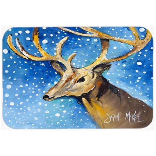 Carolines Treasures JMK1009MP Reindeer Mouse Pad Hot Pad & Trivet