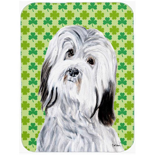 Carolines Treasures SC9737MP Havanese Lucky Shamrock St. Patricks Day Mouse Pad Hot Pad Or Trivet 7.75 x 9.25 In.