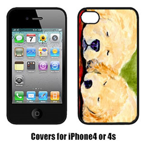 Carolines Treasures SS8902IP4 Golden Retriever Iphone 4 Cover