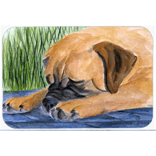 Carolines Treasures SS8033MP Bullmastiff Mouse Pad Hot Pad & Trivet