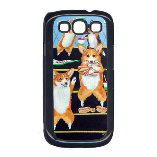 Carolines Treasures 7286GALAXYSIII Go Team Corgi Galaxy S111 Cell Phone Cover