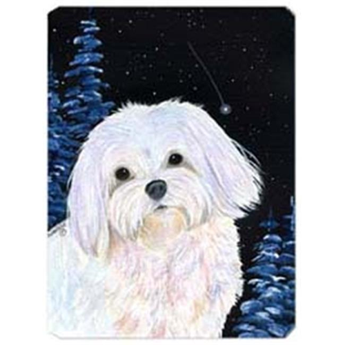 Carolines Treasures SS8460MP Starry Night Maltese Mouse Pad