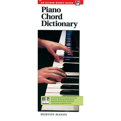 Alfred 00 285 Piano Chord Dictionary Music Book Sheet Music