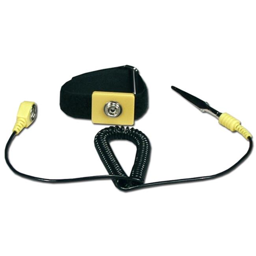 QVS CA226 Computer Anti-Static Wrist Strap with Grounding Cord