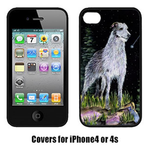 Carolines Treasures SS8493IP4 Starry Night Scottish Deerhound Iphone4 Cover