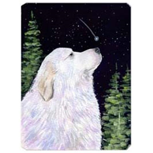 Carolines Treasures SS8470MP Starry Night Great Pyrenees Mouse Pad