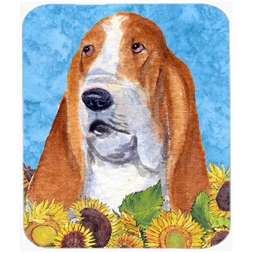 Carolines Treasures SS4162MP Basset Hound Mouse Pad Hot Pad or Trivet