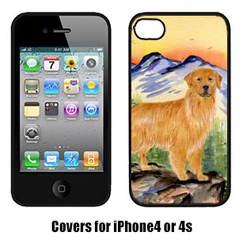 Carolines Treasures SS8163IP4 Golden Retriever Cell Phone cover IPhone 4