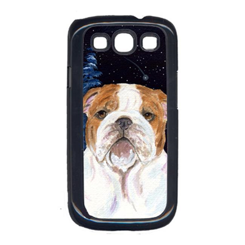 Carolines Treasures SS8447GALAXYSIII Starry Night English Bulldog Galaxy S111 Cell Phone Cover