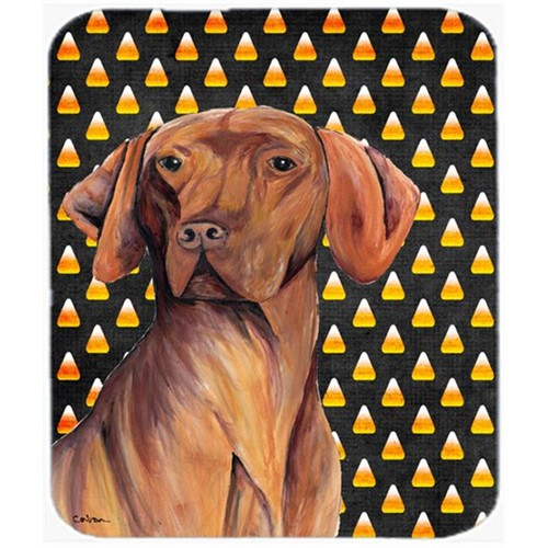 Carolines Treasures SC9169MP Vizsla Candy Corn Halloween Portrait Mouse Pad Hot Pad Or Trivet