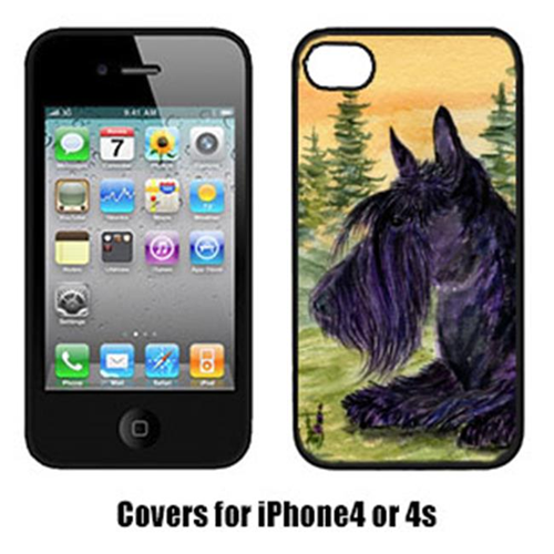 Carolines Treasures SS8511IP4 Scottish Terrier Iphone4 Cover