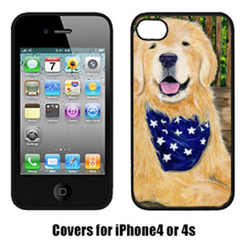 Carolines Treasures SS8972IP4 Golden Retriever Cell Phone Cover Iphone4