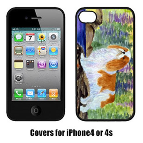 Carolines Treasures SS8204IP4 English Toy Spaniel Cell Phone cover IPhone 4