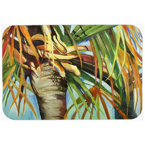 Carolines Treasures JMK1129MP Orange Top Palm Tree Mouse Pad Hot Pad & Trivet