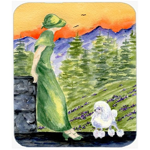 Carolines Treasures SS8618MP Poodle Mouse Pad Hot Pad Or Trivet