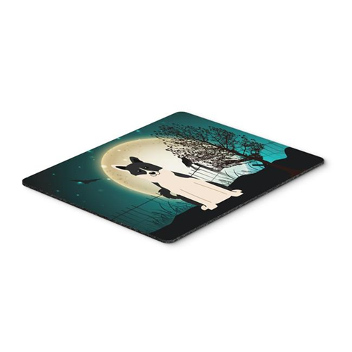Carolines Treasures BB2219MP Halloween Scary Russo-European Laika Spitz Mouse Pad Hot Pad or Trivet