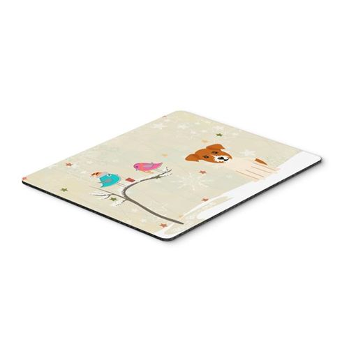 Carolines Treasures BB2580MP Christmas Presents Between Friends Jack Russell Terrier Mouse Pad Hot Pad or Trivet