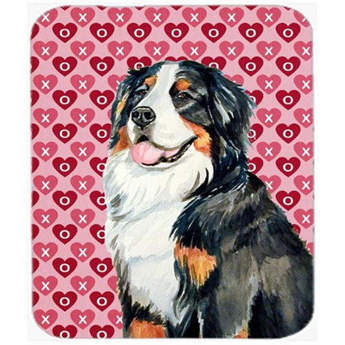 Carolines Treasures LH9154MP Bernese Mountain Dog Hearts Love Valentines Day Mouse Pad Hot Pad or Trivet