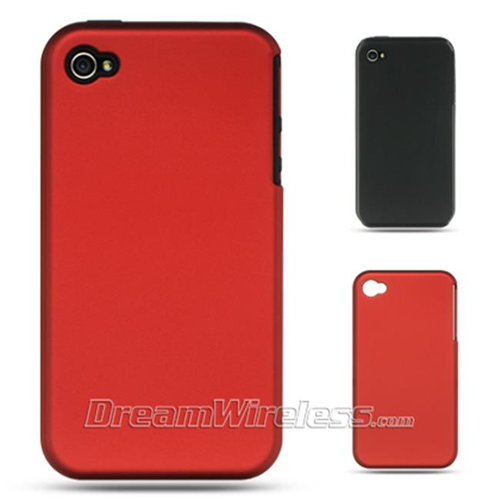 Dreamwireless Skin Case for iPhone 4S; iPhone 4 - Black; Red