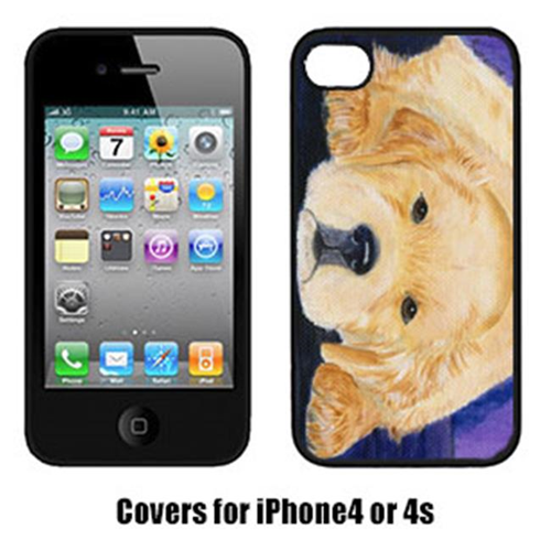 Carolines Treasures SS8212IP4 Golden Retriever Iphone 4 Cover