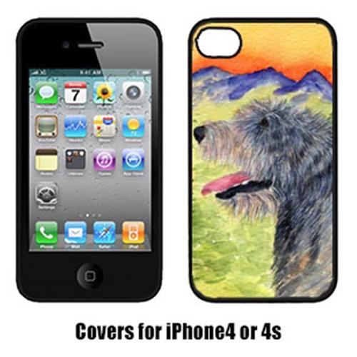 Carolines Treasures SS8209IP4 Irish Wolfhound Cell Phone cover IPhone 4