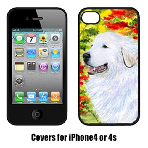 Carolines Treasures SS8235IP4 Great Pyrenees Cell Phone Cover Iphone4