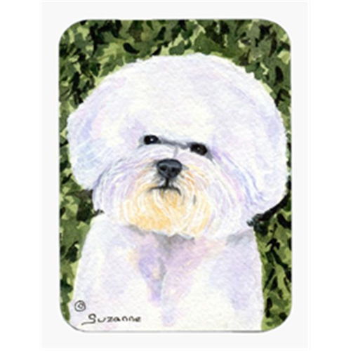 Carolines Treasures SS8829MP Bichon Frise Mouse Pad & Hot Pad Or Trivet