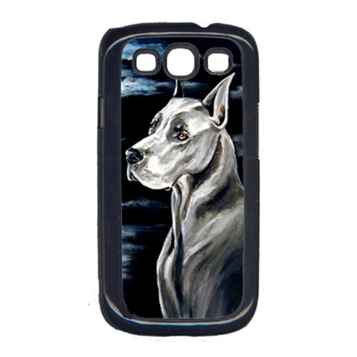 Carolines Treasures 7067GALAXYSIII Great Dane In The Moonlight Galaxy S111 Cell Phone Cover