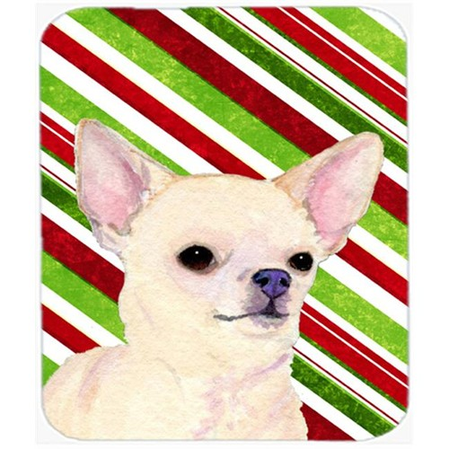 Carolines Treasures SS4541MP Chihuahua Candy Cane Holiday Christmas Mouse Pad Hot Pad Or Trivet