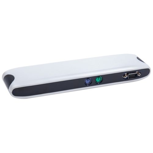 SYBA SY-HUB50059 Multi IO Docking Station: USB to Network PS2 Serial Printer USB Hub and VGA Pass-through
