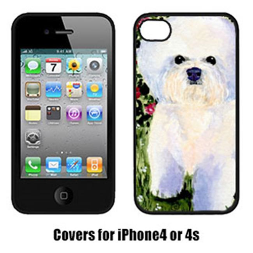 Carolines Treasures SS8914IP4 Bichon Frise Cell Phone Cover Iphone4
