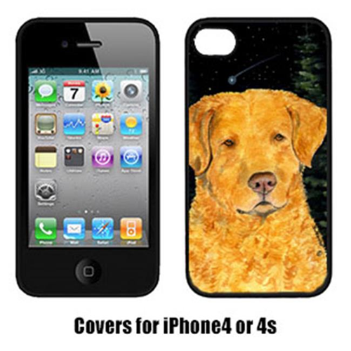 Carolines Treasures SS8487IP4 Starry Night Chesapeake Bay Retriever Cell Phone Cover Iphone 4