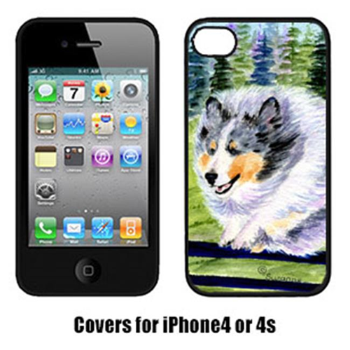 Carolines Treasures SS8305IP4 Sheltie Cell Phone cover IPhone 4