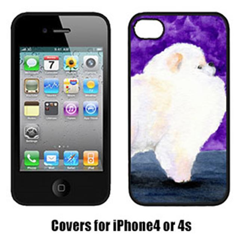 Carolines Treasures SS8688IP4 Pomeranian Iphone4 Cover
