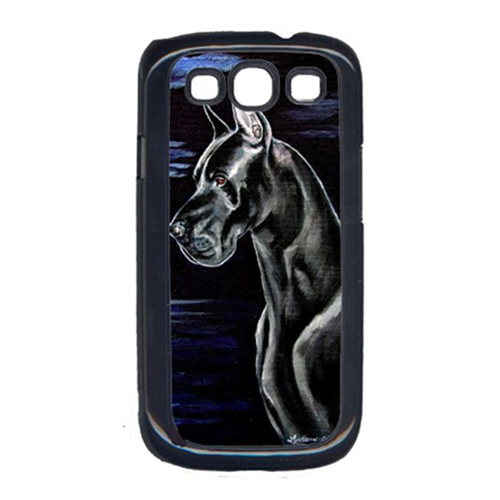 Carolines Treasures 7060GALAXYSIII Moonlight Black Great Dane Galaxy S111 Cell Phone Cover