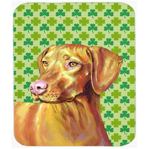 Carolines Treasures LH9190MP Vizsla St. Patricks Day Shamrock Portrait Mouse Pad Hot Pad or Trivet