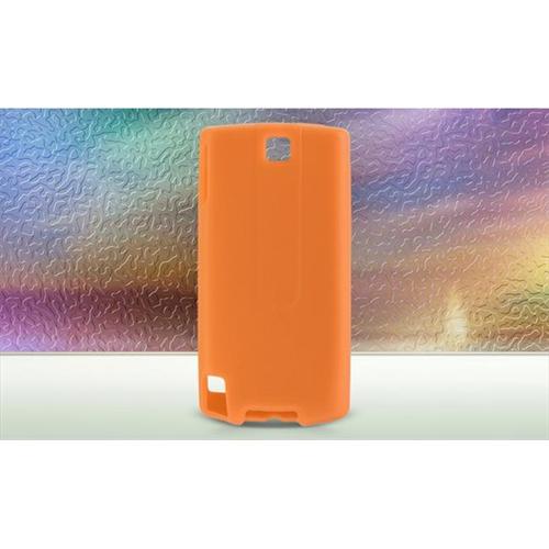 DreamWireless SCHTCPUREOR-PR HTC Pure & Touch Diamond 2 Premium Skin Case - Orange