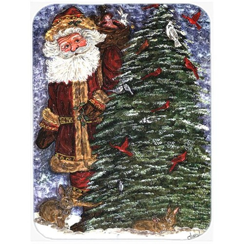 Carolines Treasures CN5156MP 7.75 x 9.25 In. Santa Claus on the Rooftop Mouse Pad Hot Pad or Trivet
